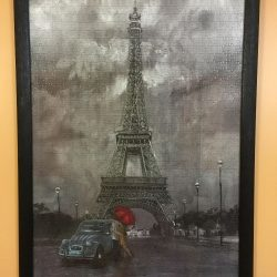 Paris in Love, on the wall