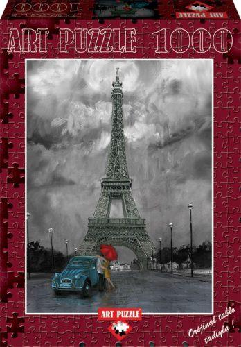 Paris in Love, Art Puzzle